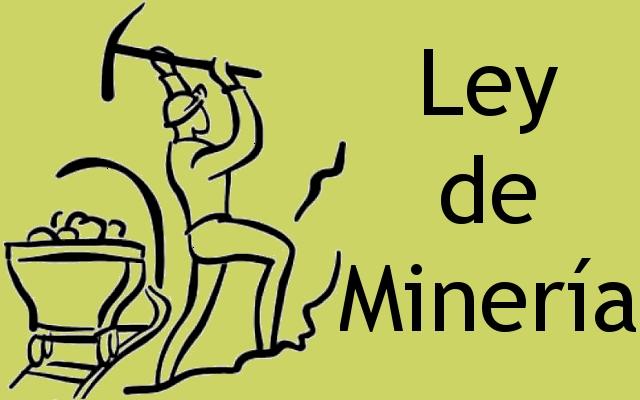 Ley de Minería