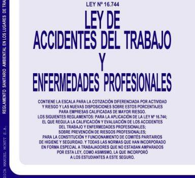 Ley de Accidentes Laborales (16744)