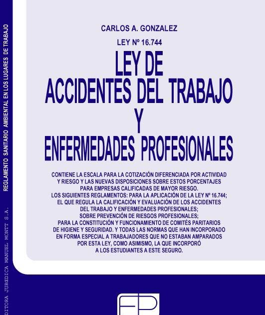 Ley de Accidentes Laborales (16744)