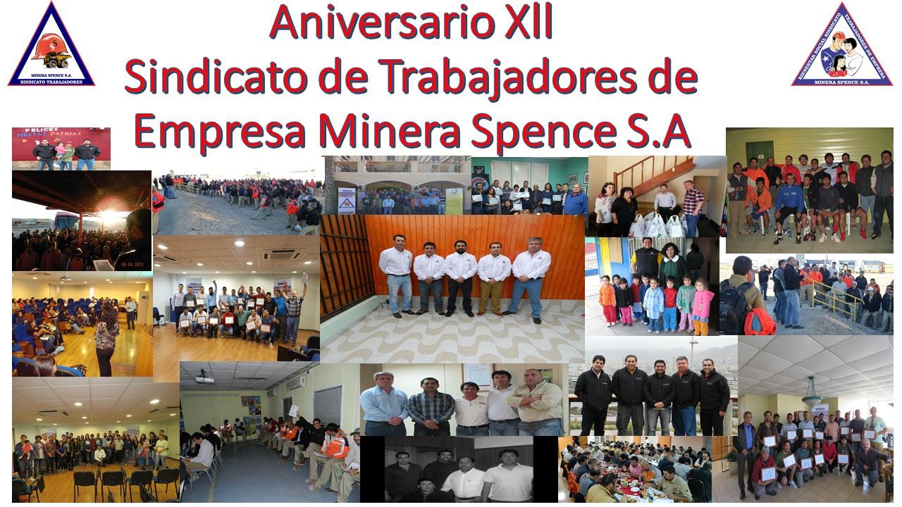Aniversario Sindical Xll