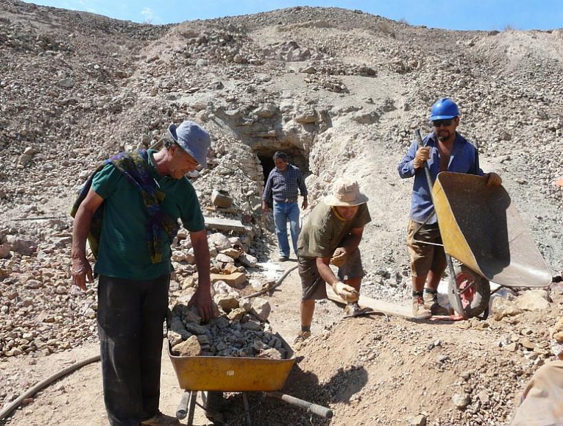 Pequeña minería denunció supuesta banda dedicada al robo de maquinaria