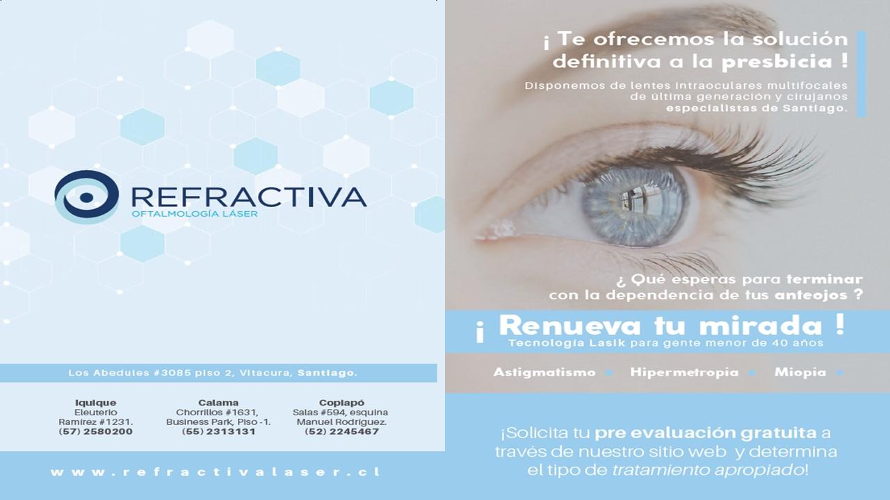 Nuevo Convenio Clínica Refractiva Calama