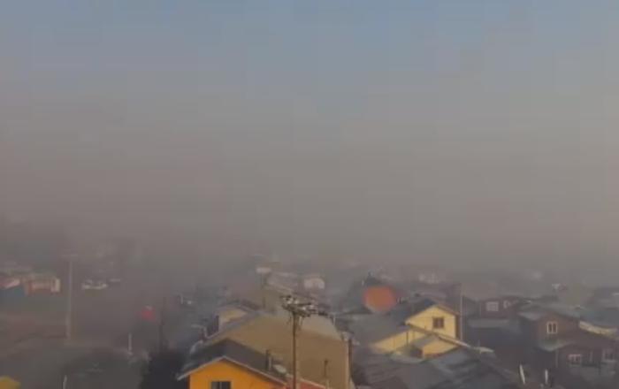 Capital de la Región de Aysén es la ciudad más contaminada de América.
