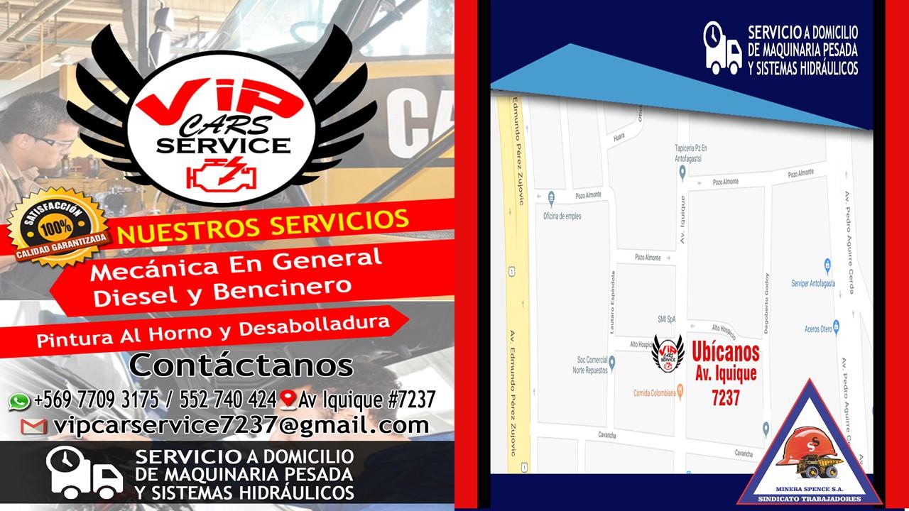 Nuevo Convenio Vip Cars Service Antofagasta