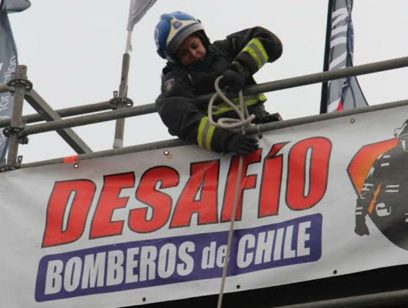 """Bomberos de Antofagasta se destacaron en el """"Desafío Bomberos Zona Norte"""""""