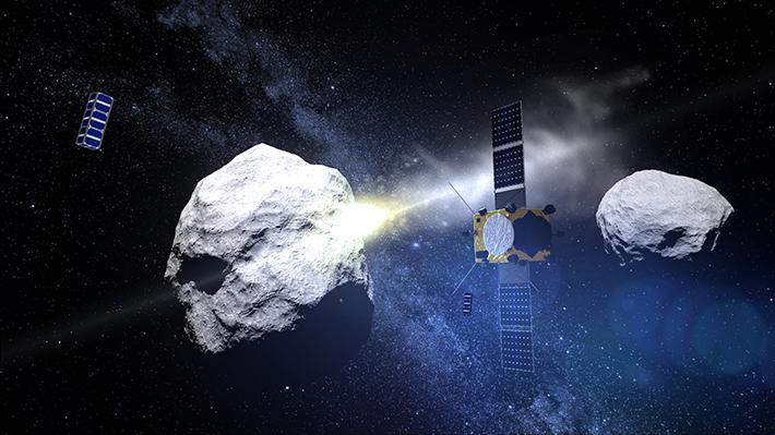 ¿Está la NASA enviando cohetes contra un planeta para desviarlo del curso de la Tierra?