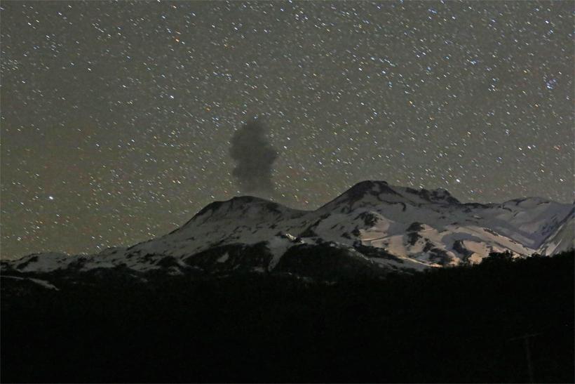 Volcán Nevados de Chillán registró segunda explosión en 48 horas