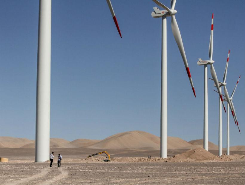 En enero comenzaría la construcción de un segundo parque eólico en Antofagasta