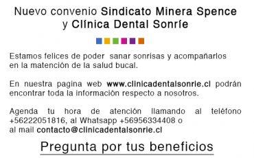 Nuevo Convenio Clínica Dental Sonríe Santiago