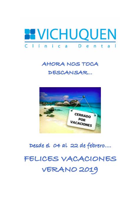 Vacaciones Clínica Dental Vichuquén