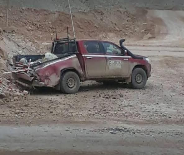 Grave accidente entre camión CAEX y camioneta en mina Escondida