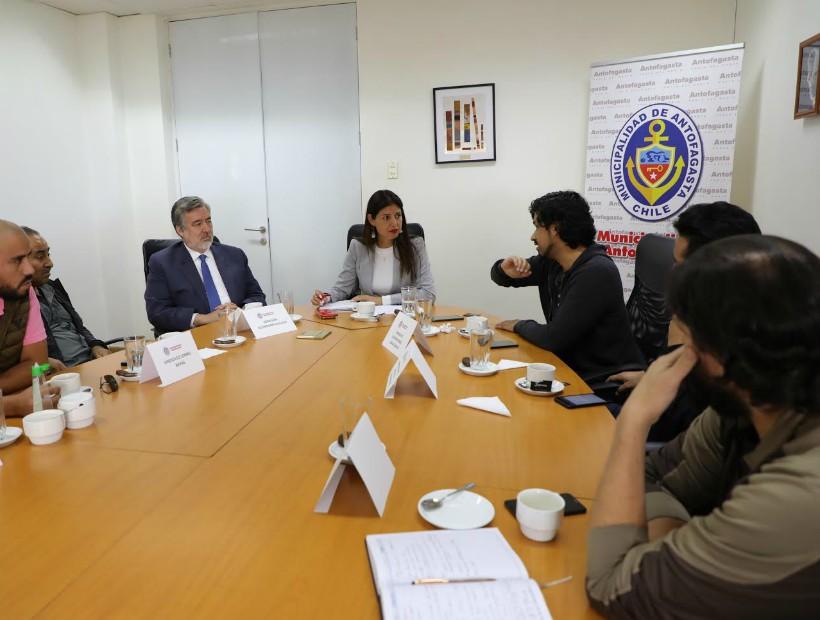 Municipio se reunió por segunda vez con sindicatos mineros para discutir turno 7×7
