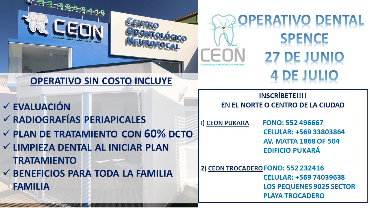 Operativo Dental CEON Antofagasta