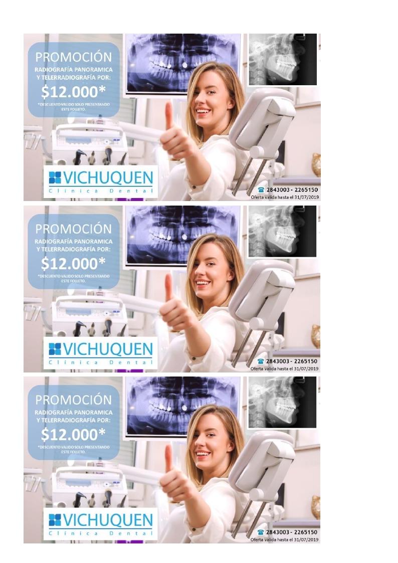 PROMOCIÓN CLÍNICA VICHUQUÉN