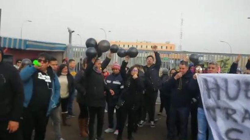 Trabajadores advierten problemas sanitarios por paro en cárcel de Antofagasta