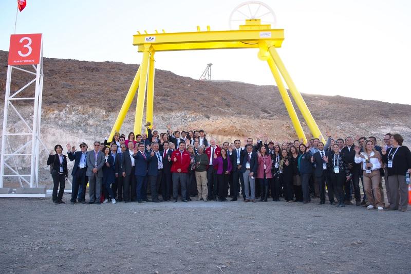 Ministro Prokurica inauguró Semana Minera APEC Chile 2019 en la mina San José NORTE MINERO
