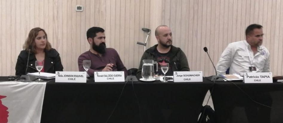 """INDUSTRIAL GLOBAL UNION : """"HAREMOS ACCIÓN GLOBAL CONTRA POLÍTICAS ANTI TRABAJADORES Y REPRESIVAS DE BHP"""""""
