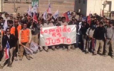TRABAJADORES DE MINERA SPENCE CRITICAN DESPIDOS EN LA EMPRESA SGS