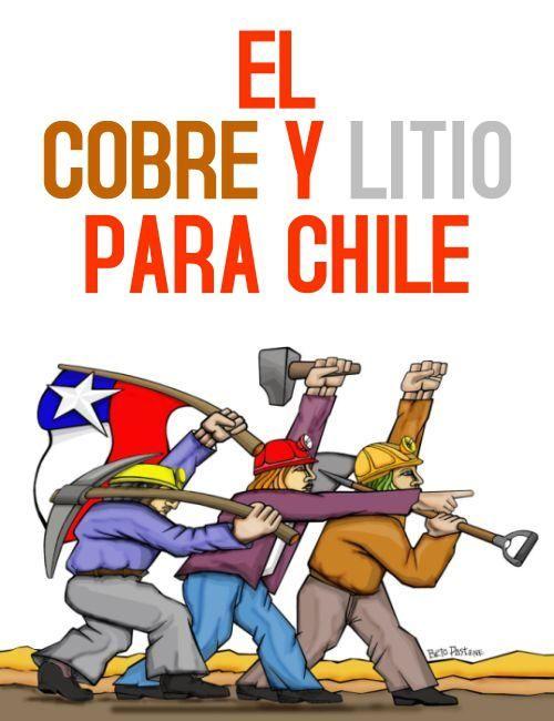 EL COBRE Y EL LITIO PARA CHILE : NUEVA CONSTITUCIÓN PARA UN ESTADO SOBERANO Y LIBRE DE EXTRACTIVISMO