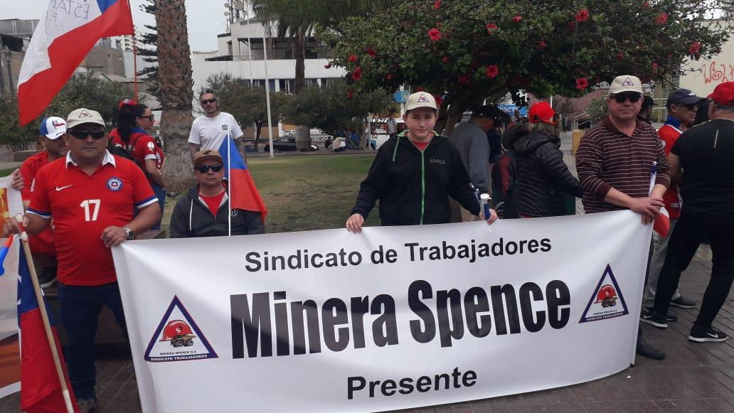 ACTIVA PARTICIPACIÓN DE SINDICATO SPENCE EN MOVILIZACIONES CIUDADANAS