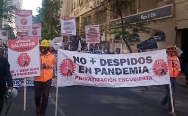 SINDICATO SPENCE RECHAZA DESPIDOS DE TRABAJADORES DE CODELCO